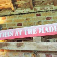 Christmas at the Madhouse!!! Available now. . . . . . #wedding #engaged #signs #photographer #create #rustic #weddingideas #weddinginspiration #weddingsigns #instapicoftheday #bride #groom #love #gifts #personalised #calligraphy #print #etsy #etsyseller #im&er #craft #followers #woodworking #kent #winter #christmas #fair #handmade