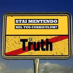 Stai mentendo anche tu nel tuo #curriculum? ( guarda il video )https://youtu.be/x4VTunW985s