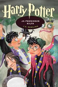 Harry Potter and the Order of Phoenix by J. K. Rowling, the Finnish cover by Mika Launis