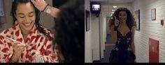 Achter de schermen: Romy Monteiro als Rachel Marron in The Bodyguard #musicals #theater