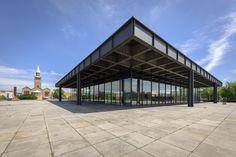 Neue Nationalgalerie, Ludwig Mies van der Rohe