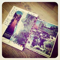 Malle Sien | Postcard journal