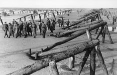 Rommel inspects (Juno) Beach defences