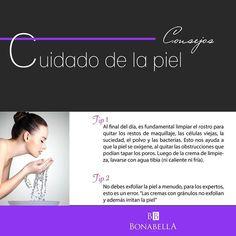 Bonabella te trae tips para que estés siempre bella y cuides tu piel.