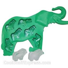 Elephant Ice Cube Tray Mold  coolstuffexpress.com