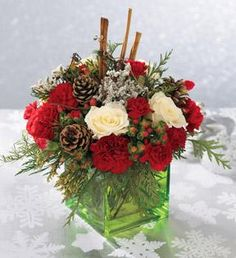 Item: Le Bouquet les plus Joyeuses Fêtes || Arum Fleuriste