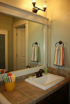 Isabella & Max Rooms: Hall Bath Redesign