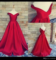 Sexy Long Prom Dresses Red Carpet Long Formal Pageant Prom Gowns With Belt Sexy V Neck Ball Gowns Open Back Lace Up Vintage Wedding Dress Party Evening Real Photos Prom 2015 Dresses From Sarabridal, $125.24| Dhgate.Com