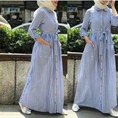27 Ideas for dress hijab casual fashion Hijab Casual, Hijab Outfit, Hijab Style Dress, Abaya Style, Modern Hijab Fashion, Abaya Fashion, Modest Fashion, Fashion Outfits, Maxi Outfits