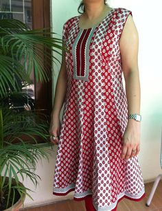 Hey, I found this really awesome Etsy listing at http://www.etsy.com/listing/154152102/printed-red-and-white-anarkali-kurta