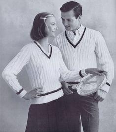 1950s Mens Patterns