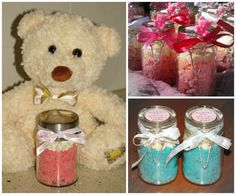Baby Shower Cupcakes (Cupcake In A Jar)