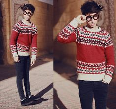 All those people alone . (by Ayoub Mani) http://lookbook.nu/look/4422607-All-those-people-alone