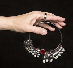 The LUCi Ring - Get your finger sized with a wide band ring sizer to insure a proper fit!
