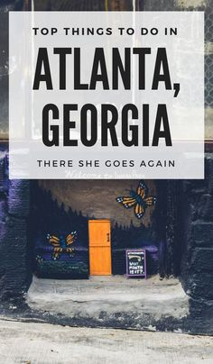 Top Things to Do in Atlanta Georgia - Travel Miami - Ideas of Travel Miami - Based on local recommendations and my own week visit here's a quick list of things to do in Atlanta Georgia. From things to see restaurants to try and more! Visit Atlanta, Atlanta Travel, Atlanta Georgia, Weekend In Atlanta, Atlanta Food, North Atlanta, Travel Usa, Travel Tips, Travel Destinations