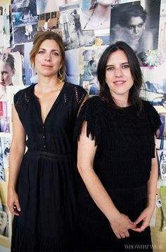 The original Catbirdettes. Tour the Catbird studio with Rony and Leigh via @WhoWhatWear