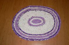 Shabby Chic Crochet Rug round  http://wollfadenwelt.blogspot.co.at/