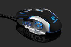 3200DPi LED Professional Gaming Mouse for High-end Players. New Electronic Gadgets, Electronics Gadgets, Computer Build, Computer Mouse, Led, Laptop Computers, Wire, Games, Cable