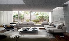 Most Beautiful 52 Luxury Living Room Modern That You Could Use To Improve Your House Living Room Modern, Living Room Sofa, Interior Design Living Room, Living Room Furniture, Living Room Designs, Living Room Decor, Living Rooms, Living Area, Italian Furniture Brands