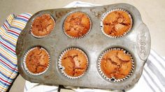 Chocolate Banana Muffins with Chickpea Flour