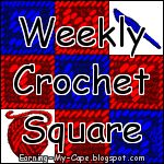 Earning-My-Cape Weekly Crochet Square