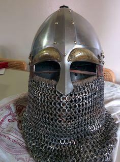 Viking Armor, Viking Helmet, Medieval Armor, Medieval Fantasy, Anubis, Vikings, Viking Cosplay, Chainmail Armor, Norway Viking