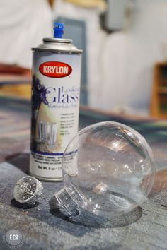 looking glass painput epsom salt in ornament and spray outside once and then inside