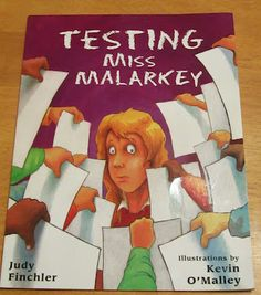 Testing Miss Malarkey - read before STAAR - ideas for test anxiety...