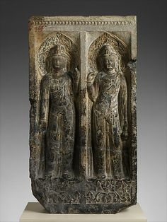 Estela Budista, Dinastía Tang 唐朝 Táng Cháo - ca. The Metropolitan Museum of Art Buddha Life, Medieval World, Popular Art, China Art, Guanyin, Buddhist Art, Ancient Artifacts, Metropolitan Museum, Art History