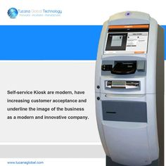 Self-service #Kiosk are #modern, have #increasing #customer #acceptance and underline the image of the #business as a #modern and #innovative company. #TucanaGlobalTechnology #Manufacturer #HongKong