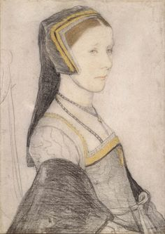 Hans Holbein the Younger (1497/8-1543) - Anne Cresacre (c.1511-1577)
