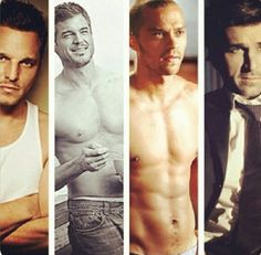 Greys Anatomy. I seriously, watch it for the storyline. these guys, are just a hot bonus!
