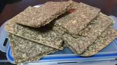 Ingredients: 1/2 cup Flax Seed 1/2 cup Whole Oats 1/2 cup grounded Chickpeas 1 Table spoon Olive Oil Pinch of salt 1-2 cups of water Steps: Ground Flax Seed Mix all dry ingredients in baking pan ...