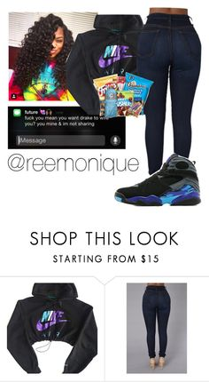 """""""Untitled #24"""" by reemonique ❤ liked on Polyvore featuring NIKE and Jordan Brand"""