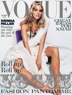 Vogue - Sienna Miller - December, 2004