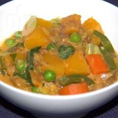 Recipe Picture:Pumpkin and Vegetable Penang Curry