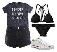 """Untitled #412"" by bleeding-neverland on Polyvore featuring Abercrombie & Fitch, Converse and Miss Selfridge"