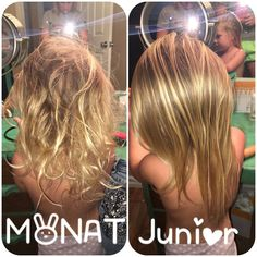 MONAT junior line! Cut your morning de-tangling sessions down with our new kid-friendly shampoo, conditioner and detangling spray! Message me with info or visit my website. Carrington Stott.mymonat.com
