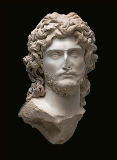 Safromati II, king of the Cimmerian Bosporus around the late 2nd century. A.D. Acropolis Museum, Athens