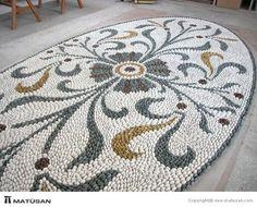 Pebble stone mosaic!