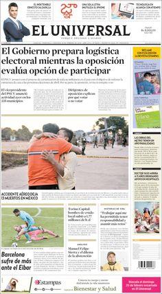 2018-02-18  Periódico Universal (Venezuela). Periódicos de Venezuela. Toda la prensa de hoy. Kiosko.net