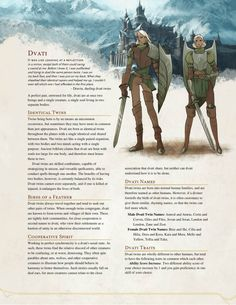 DnD Homebrew — Dvati Race by The Middlefinger of Vecna Dungeons And Dragons Races, Dungeons And Dragons Classes, Dungeons And Dragons Homebrew, Dungeons And Dragons Characters, Dnd Characters, Fantasy Characters, Fox Racing, Vespa Racing, Fantasy Races