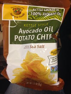 Travel sized Avocado Oil Potato Chips