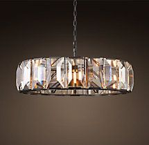 Harlow Crystal Chandelier 43""