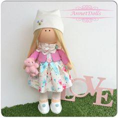 An example in my work, кукла, кукла ручной работы, интерьерная кукла, dolls