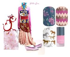 Mulan by brittany-gillaspy-mcneeley on Polyvore featuring art