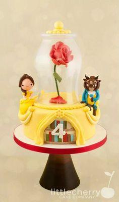 Beauty and beast cake