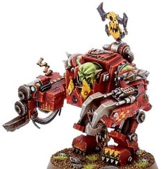 Fallout Power Armor, Orks 40k, Warhammer 40k Figures, Sci Fi Miniatures, The Grim, Concept, Armour, Proposals, Crafts