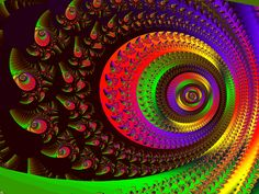 AlienForest Plane6 Spiral2 by FractalMonster -- or the eye at the end of the tunnel.