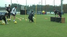 training of Deportivo goalkeepers.mp4
